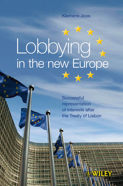 Successful Lobbying in the New Europe